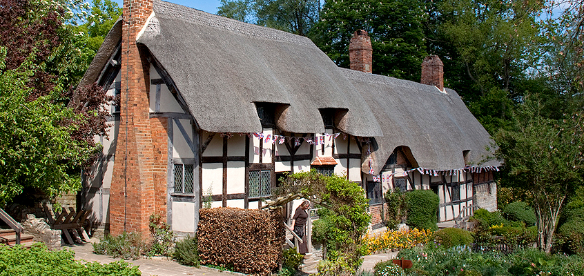 anne hathaway s cottage stratford upon avon rh welovecoventry co uk William Shakespeare Stratford On Avon cottages stratford on avon large groups