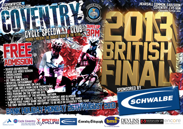 Coventry Cycle Speedway Club - British Final