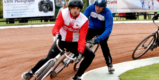 One gear, no brakes… Coventry Cycle Speedway Club